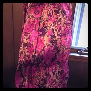 XL Sleeveless floral top